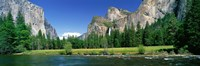 "Bridal Veil Falls, Yosemite National Park, California, USA by Panoramic Images - 27"" x 9"""