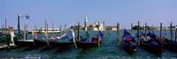 Church of San Giorgio Maggiore and Gondolas Venice Italy Fine Art Print