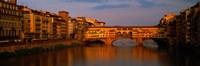 Ponte Vecchio Arno River Florence Italy