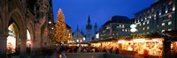 """Munich, Germany by Panoramic Images - 27"""" x 9"""""""