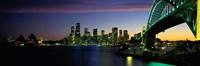 Sydney Australia at dusk Fine Art Print