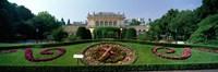 "Flower Clock, Stadtpark, Vienna, Austria by Panoramic Images - 27"" x 9"""