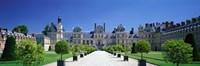 """Chateau de Fontainebleau Ile de France France by Panoramic Images - 27"""" x 9"""""""