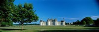 """Chateau de Chambord France by Panoramic Images - 27"""" x 9"""", FulcrumGallery.com brand"""