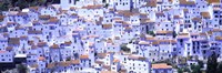 """White washed buildings, Casares, Andalucia, Spain by Panoramic Images - 27"""" x 9"""""""