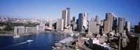 """Skyscrapers in a city, Sydney, New South Wales, Australia by Panoramic Images - 27"""" x 9"""""""