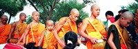 Buddhist Monks Luang Prabang Laos