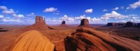 """Monument Valley, Arizona by Panoramic Images - 27"""" x 9"""""""