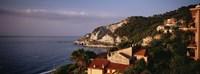 "High angle view of a city near the sea, Ligurian Sea, Italian Rivera, Bergeggi, Liguria, Italy by Panoramic Images - 27"" x 9"" - $28.99"