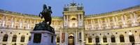 "Hofburg Palace, Vienna, Austria by Panoramic Images - 27"" x 9"" - $28.99"