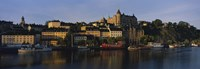 "Buildings On The Waterfront, Stockholm, Sweden by Panoramic Images - 27"" x 9"", FulcrumGallery.com brand"