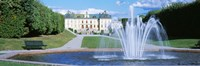 """Drottningholm Palace, Stockholm, Sweden by Panoramic Images - 27"""" x 9"""""""