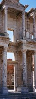 """Turkey, Ephesus, facade of library ruins by Panoramic Images - 9"""" x 27"""""""