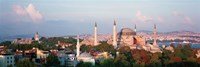 """Turkey, Istanbul, Hagia Sofia by Panoramic Images - 27"""" x 9"""""""