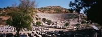 "Turkey, Ephesus, main theater ruins by Panoramic Images - 27"" x 9"""