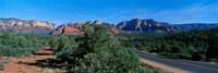 """Sedona, Arizona, USA by Panoramic Images - 27"""" x 9"""""""