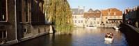 """Brugge Belgium by Panoramic Images - 27"""" x 9"""""""