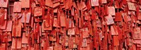 """Prayer offerings at a temple, Dai Temple, Tai'an, China by Panoramic Images - 27"""" x 9"""""""