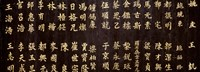 """Close-up of Chinese ideograms, Beijing, China by Panoramic Images - 27"""" x 9"""""""