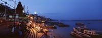 "Varanasi, India by Panoramic Images - 27"" x 9"""