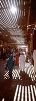 """Souk, Marrakech, Morocco (vertical) by Panoramic Images - 9"""" x 27"""""""