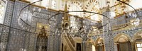 """Interiors of a mosque, Rustem Pasa Mosque, Istanbul, Turkey by Panoramic Images - 27"""" x 9"""""""