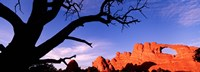 "Skyline Arch, Arches National Park, Utah, USA by Panoramic Images - 27"" x 10"""