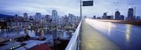 "Bridge, Vancouver, British Columbia, Canada by Panoramic Images - 27"" x 9"""