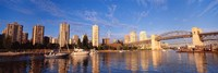"""Vancouver, British Columbia, Canada by Panoramic Images - 27"""" x 9"""""""
