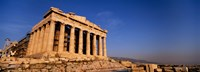 """Ruins of a temple, Parthenon, Athens, Greece by Panoramic Images - 27"""" x 9"""""""