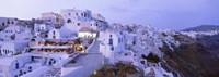 White Washed Buildings Santorini Greece