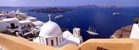 View of the Caldera, Santorini, Cyclades Islands, Greece Fine Art Print