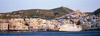 "Ermoupoli, Syros, Greece by Panoramic Images - 27"" x 9"" - $28.99"
