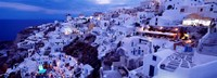 Santorini at Dusk, Greece Fine Art Print