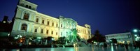 Town Square Syros Cyclades Islands Greece