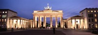 Brandenburg Gate at dusk, Berlin, Germany Fine Art Print