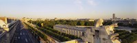 """High angle view of a city, Royal Street, Paris, France by Panoramic Images - 27"""" x 9"""", FulcrumGallery.com brand"""