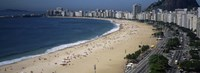 """High Angle View Of The Beach, Rid De Janeiro, Brazil by Panoramic Images - 27"""" x 9"""" - $28.99"""