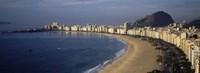 "Copacabana Beach, Rio De Janeiro, Brazil by Panoramic Images - 27"" x 9"""
