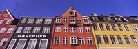 "Low Angle View Of Houses, Nyhavn, Copenhagen, Denmark by Panoramic Images - 27"" x 9"", FulcrumGallery.com brand"