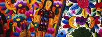 Close-Up Of Textiles, Guatemala Fine Art Print