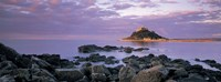 """Castle on top of a hill, St Michael's Mount, Cornwall, England by Panoramic Images - 27"""" x 9"""", FulcrumGallery.com brand"""