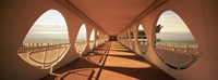 "Corridor of a building, Lignano Sabbiadoro, Italy by Panoramic Images - 27"" x 9"""
