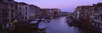 Buildings Along A Canal Venice Italy