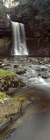 "Water Falling From Rocks, River Twiss, Thornton Force, Ingeleton, North Yorkshire, England, United Kingdom by Panoramic Images - 9"" x 27"""