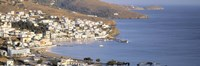 """Batsi, Andros Island, Cyclades Islands, Greece by Panoramic Images - 27"""" x 9"""""""
