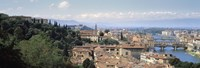 """High Angle View of Florence, Tuscany, Italy by Panoramic Images - 27"""" x 9"""" - $28.99"""