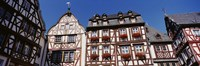 """Low Angle View Of Decorated Buildings, Bernkastel-Kues, Germany by Panoramic Images - 27"""" x 9"""""""