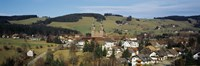 """High angle view of a town, St. Peter, Black Forest, Germany by Panoramic Images - 27"""" x 9"""""""