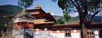 "Temple In A City, Chimi Lhakhang, Punakha, Bhutan by Panoramic Images - 27"" x 9"" - $28.99"